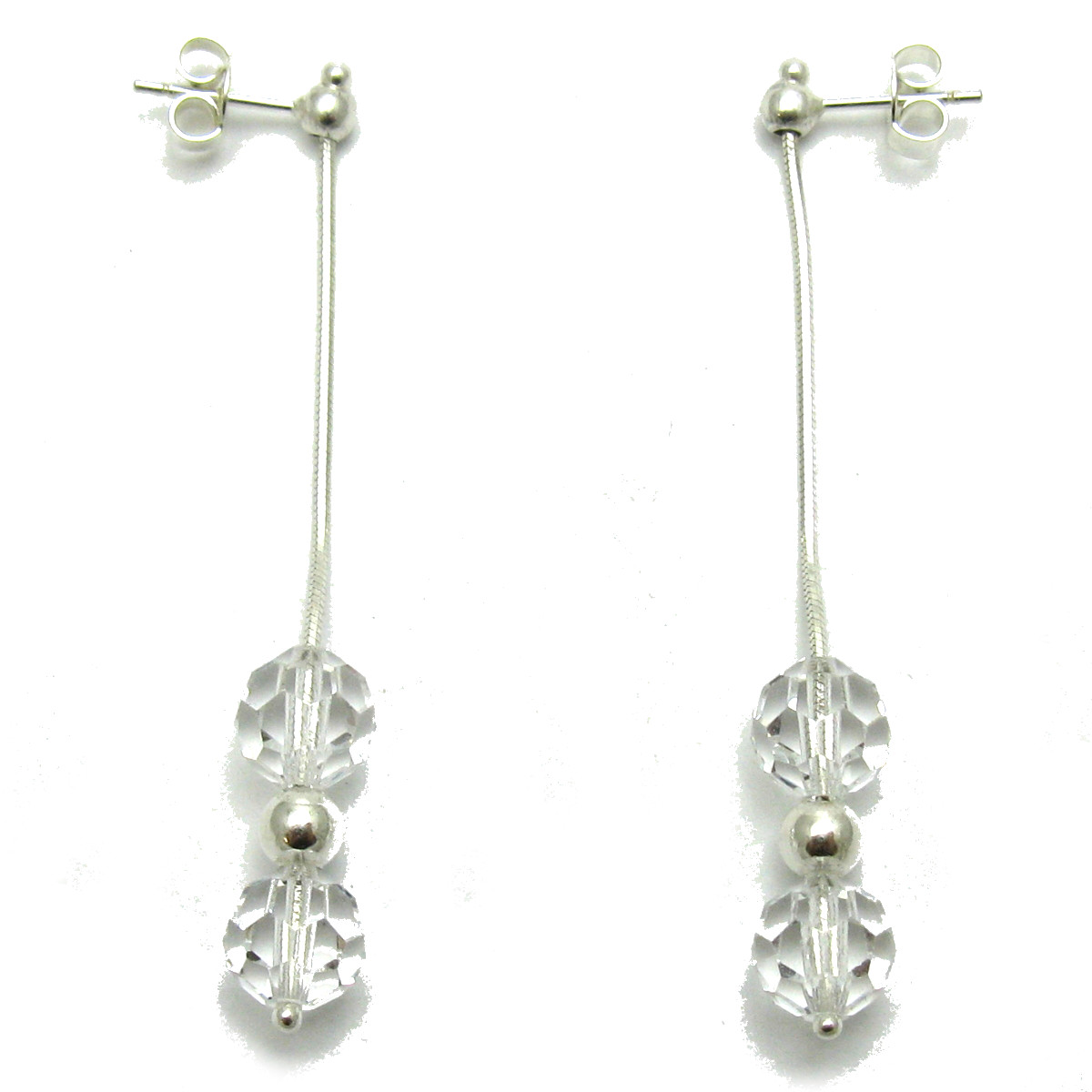 Silver earrings - E000003C