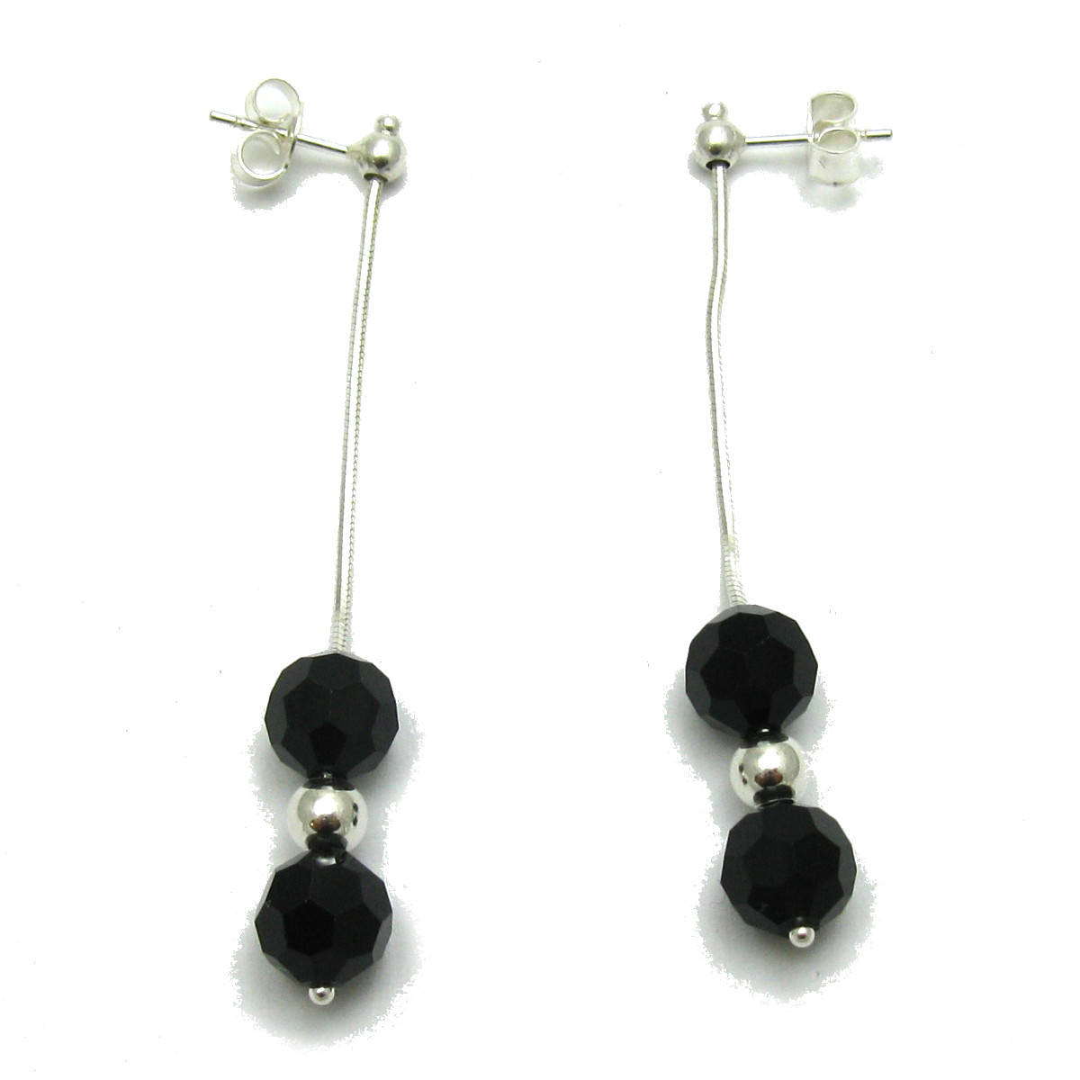 Silver earrings - E000003J