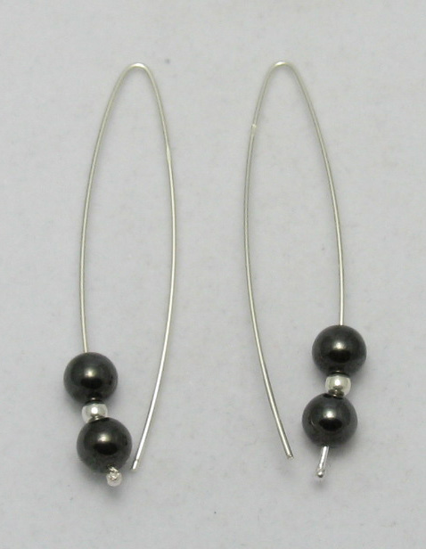 Silver earrings - E000004H