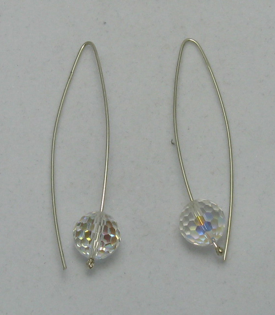 Silver earrings - E000004MF12