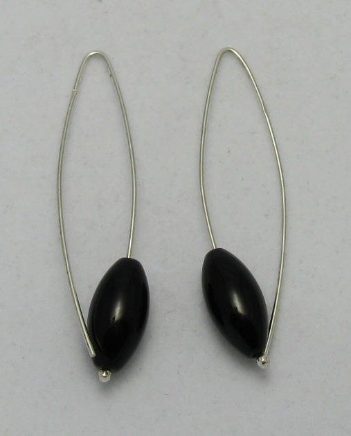 Silver earrings - E000004OO