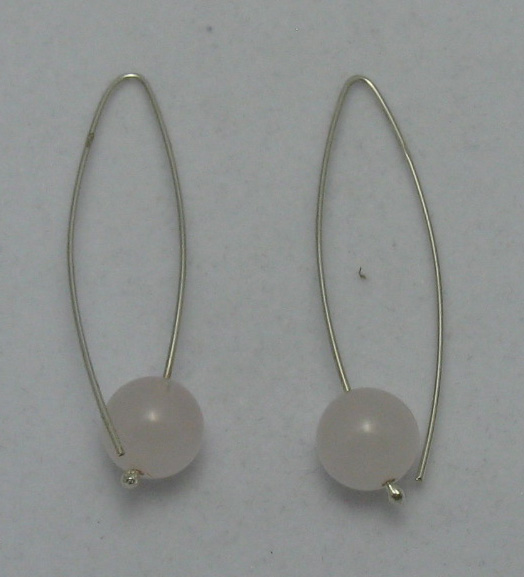 Silver earrings - E000004Rq12