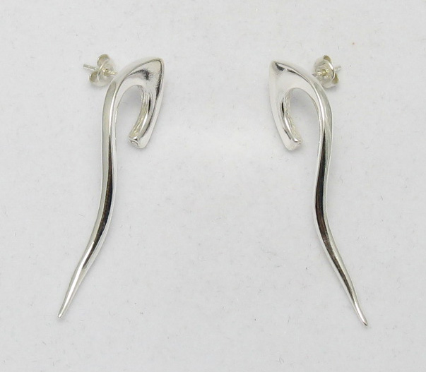 Silver earrings - E000007