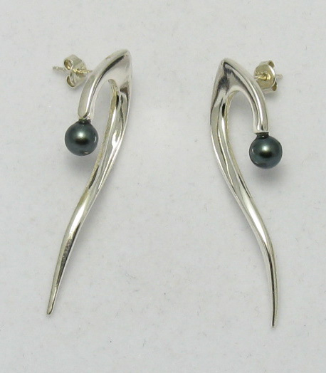 Silver earrings - E000007BP