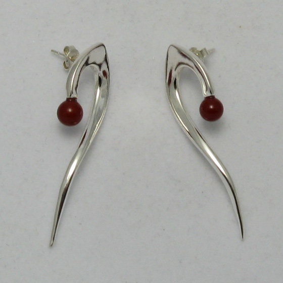 Silver earrings - E000007CO