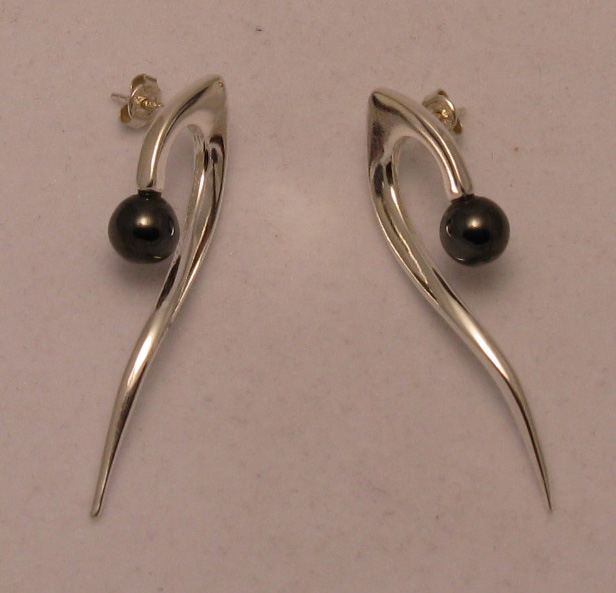 Silver earrings - E000007H