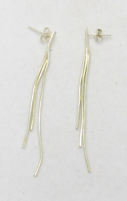 Silver earrings - E000008
