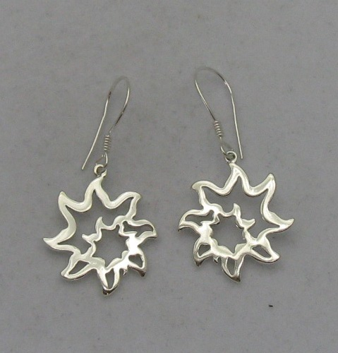Silver earrings - E000012