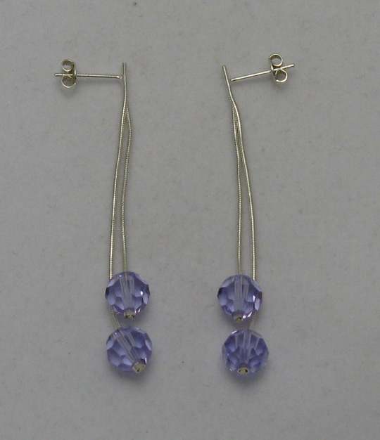 Silver earrings - E000024A