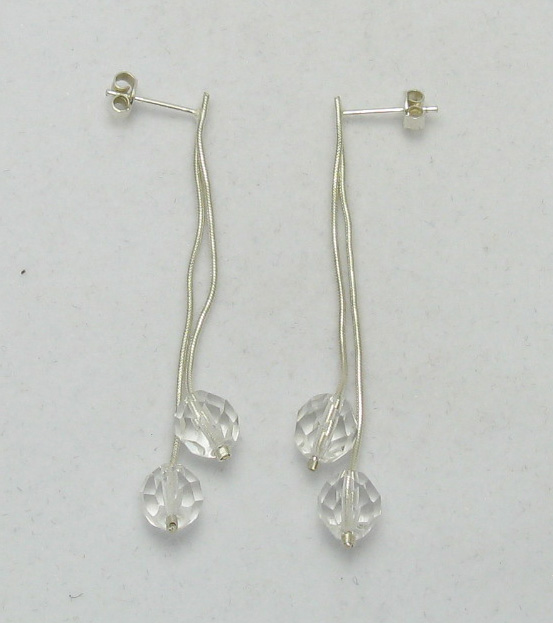 Silver earrings - E000024C