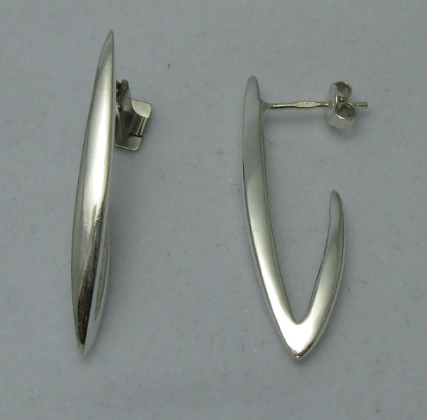Silver earrings - E000030