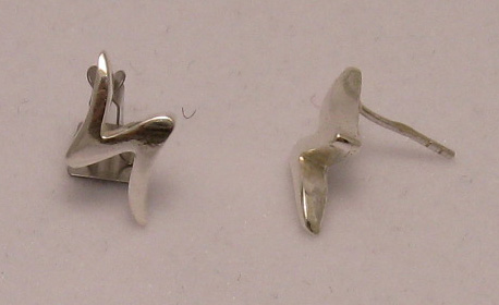 Silver earrings - E000032