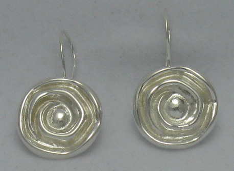 Silver earrings - E000035