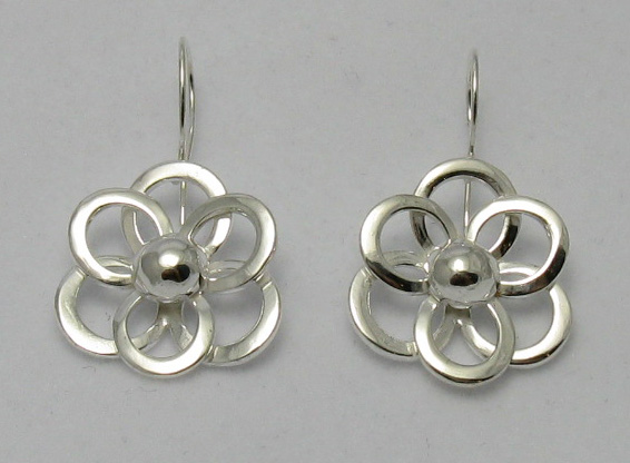 Silver earrings - E000043