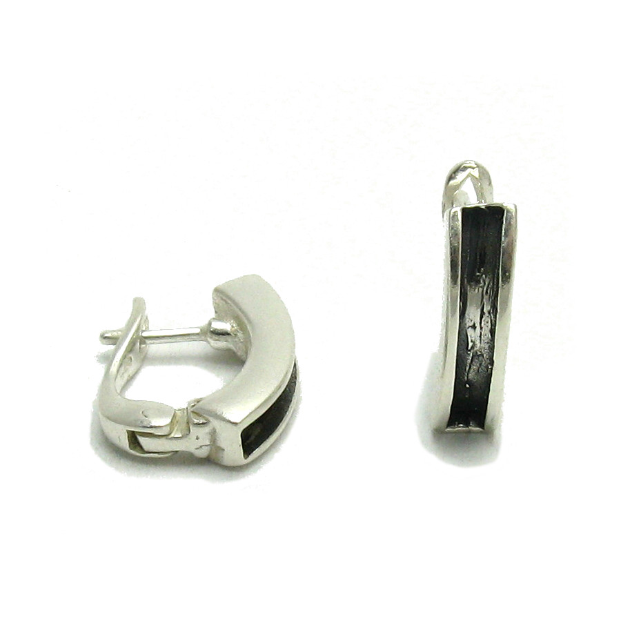 Silver earrings - E000057