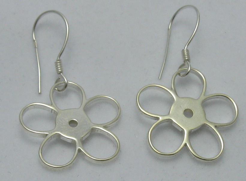 Silver earrings - E000068
