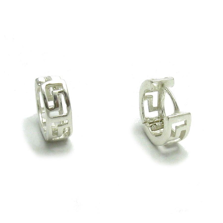 Silver earrings - E000075