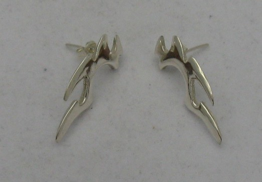 Silver earrings - E000077