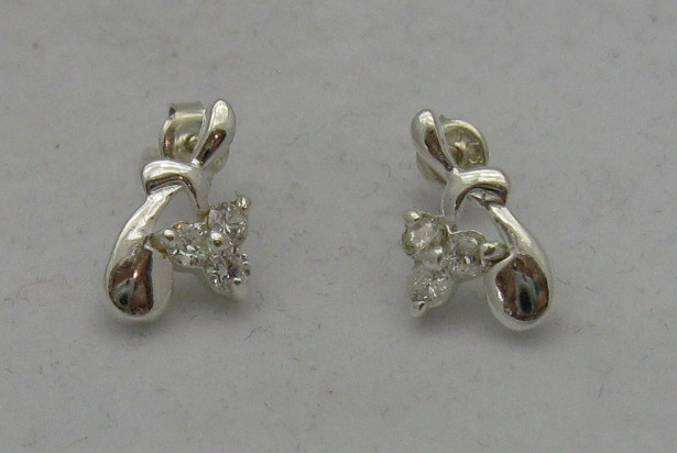 Silver earrings - E000085