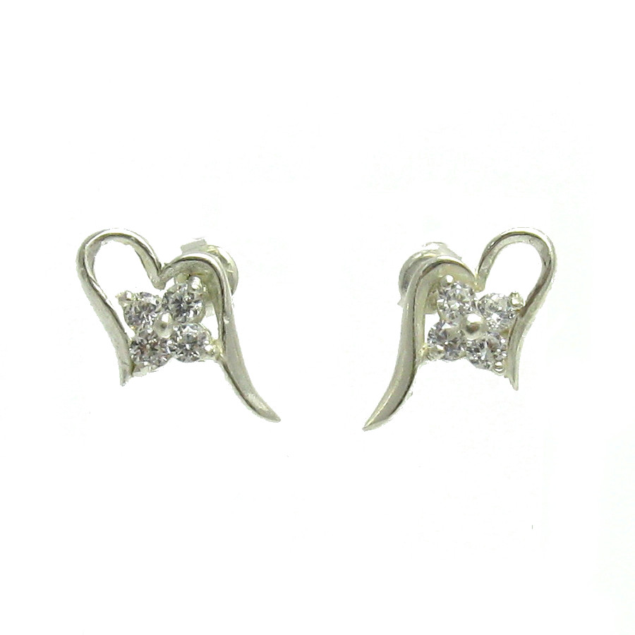 Silver earrings - E000097