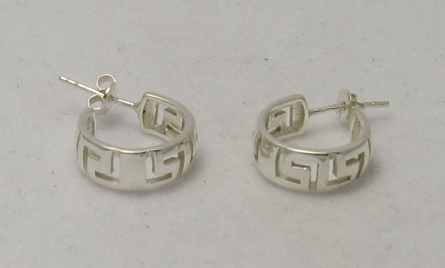 Silver earrings - E000100
