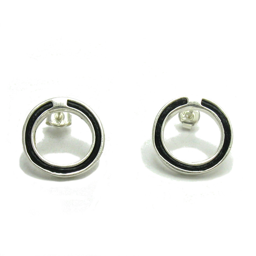 Silver earrings - E000112