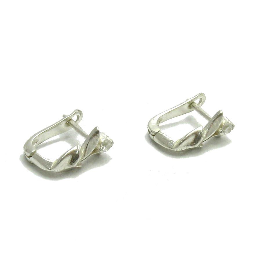 Silver earrings - E000113