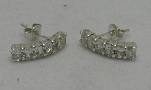 Silver earrings - E000115