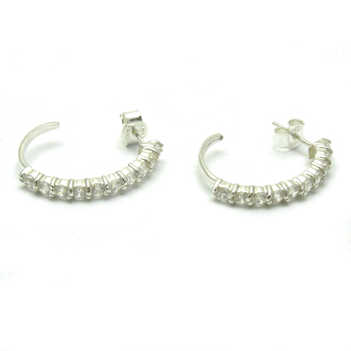 Silver earrings - E000125