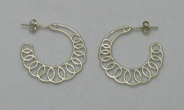 Silver earrings - E000131