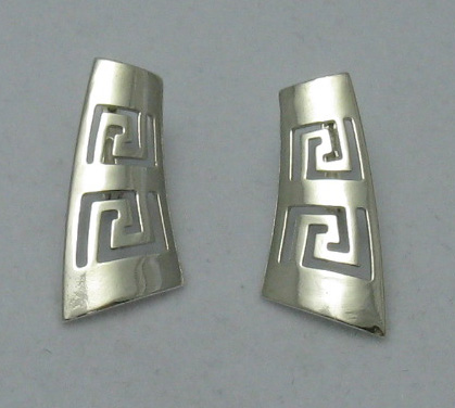 Silver earrings - E000137