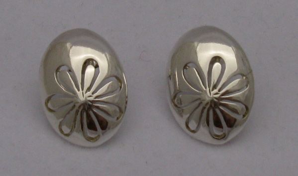 Silver earrings - E000147