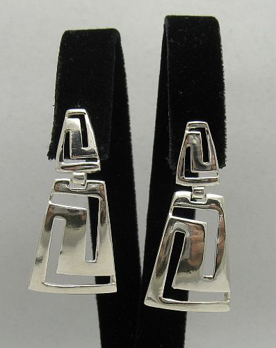 Silver earrings - E000151
