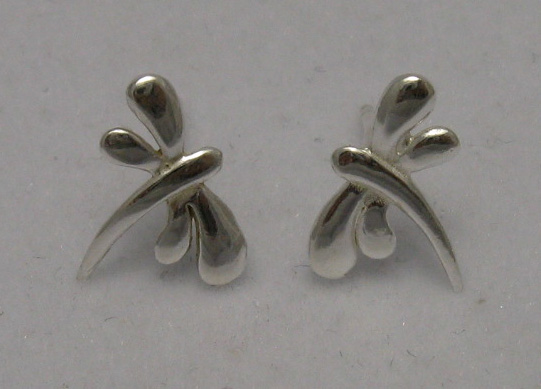 Silver earrings - E000154