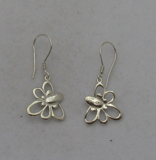 Silver earrings - E000155