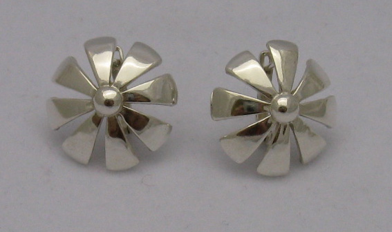 Silver earrings - E000157
