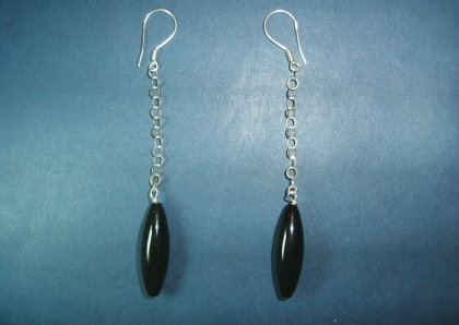 Silver earrings - E000158