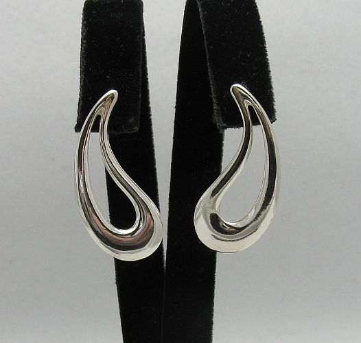 Silver earrings - E000162