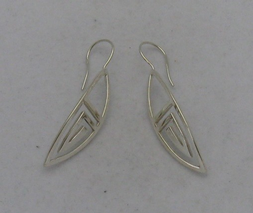 Silver earrings - E000163