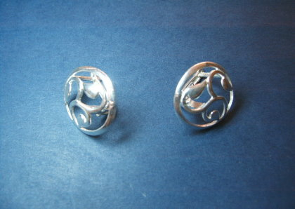 Silver earrings - E000164