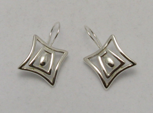Silver earrings - E000165