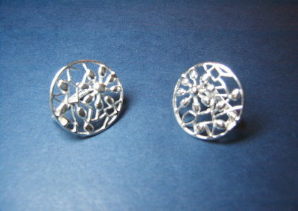 Silver earrings - E000166