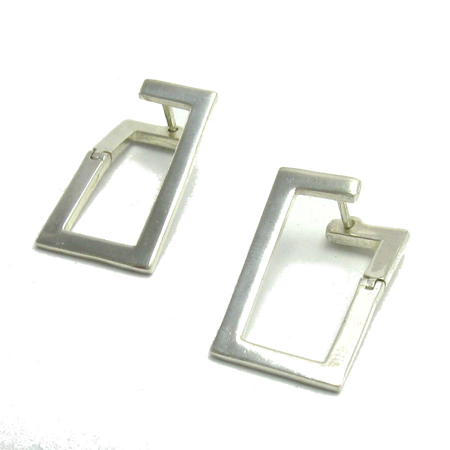 Silver earrings - E000177