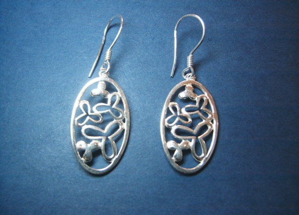 Silver earrings - E000197