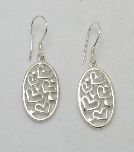 Silver earrings - E000198