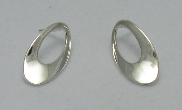 Silver earrings - E000199