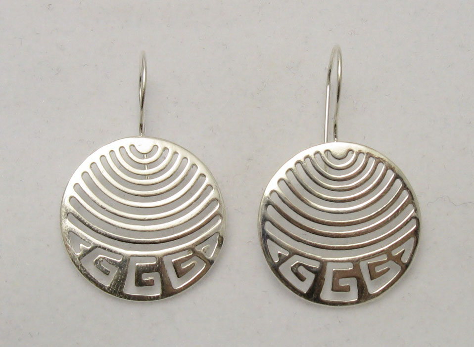 Silver earrings - E000206