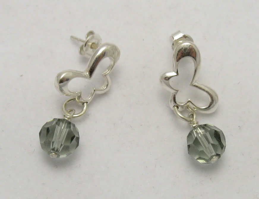 Silver earrings - E000207BD