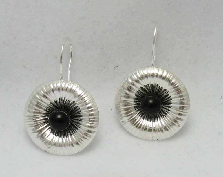 Silver earrings - E000210O