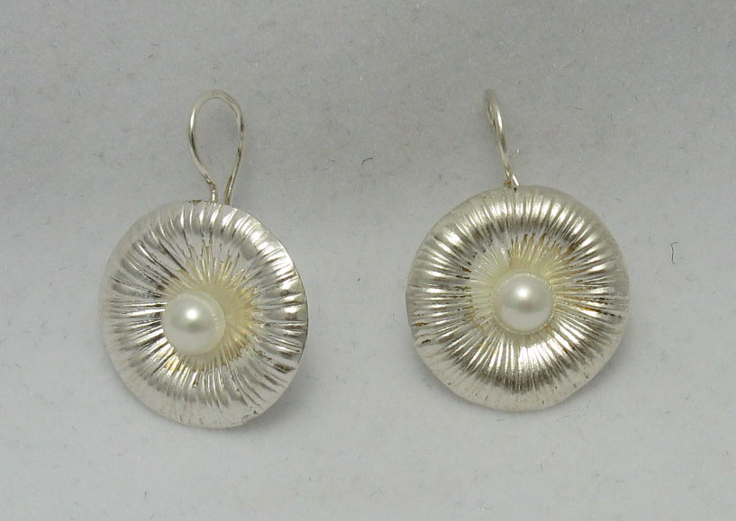 Silver earrings - E000210P